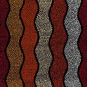 Ethnic seamless pattern in african style.