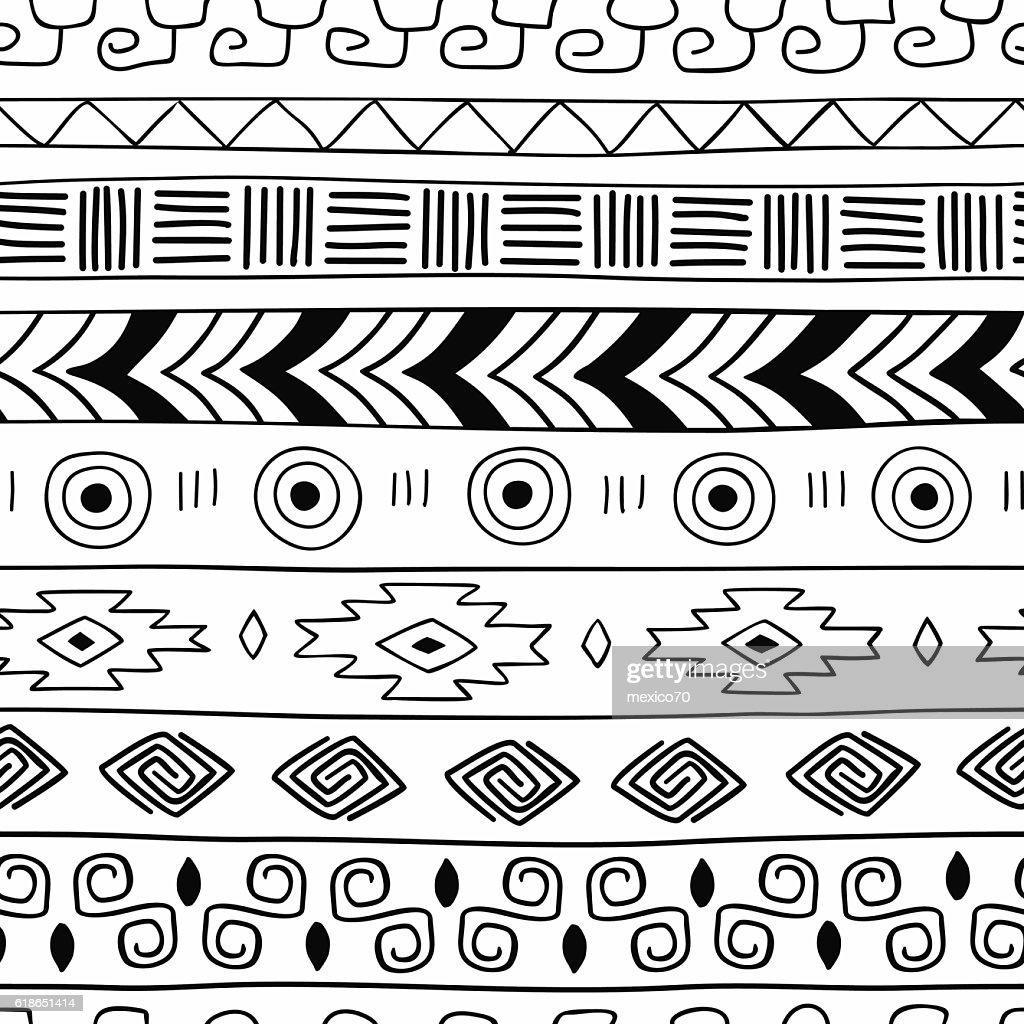 Ethnic seamless texture