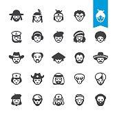 Ethnicity vector characters