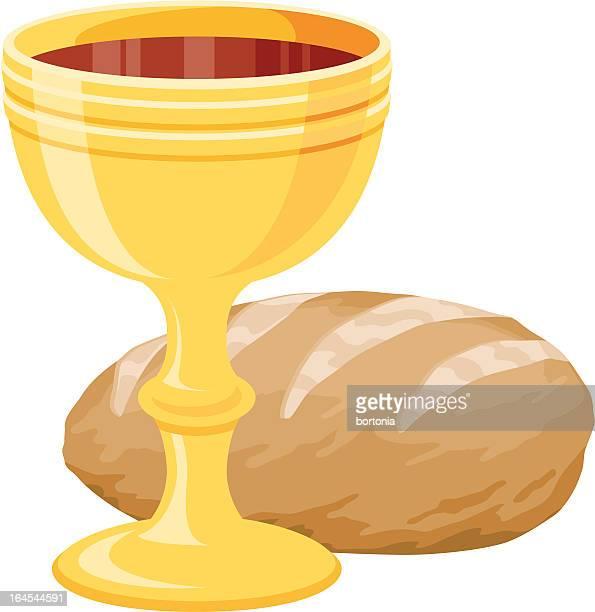 eucharist (communion) - communion stock illustrations