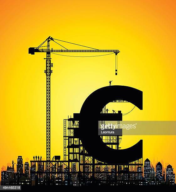 ilustrações de stock, clip art, desenhos animados e ícones de conceito de euro - unidade monetária da união europeia