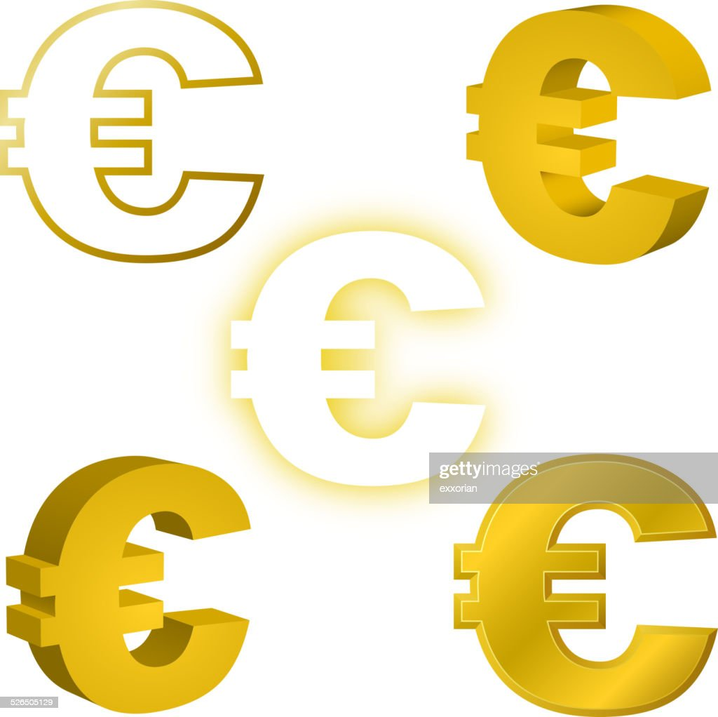 Euro Currency Symbol Vector Art Getty Images