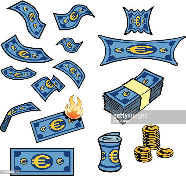 Euro Dollars Artwork