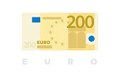 200 euro money