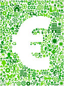 Euro Sign Environmental Conservation and Nature interface icon Pattern