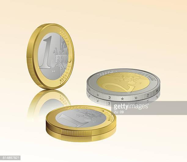 ilustrações de stock, clip art, desenhos animados e ícones de o euro - unidade monetária da união europeia