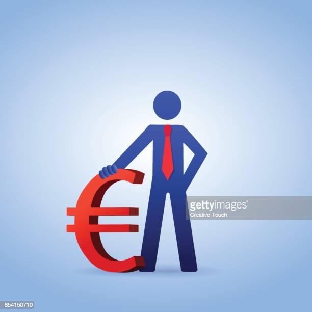 ユーロ国債 - ユーロ圏点のイラスト素材/クリップアート素材/マンガ素材/アイコン素材