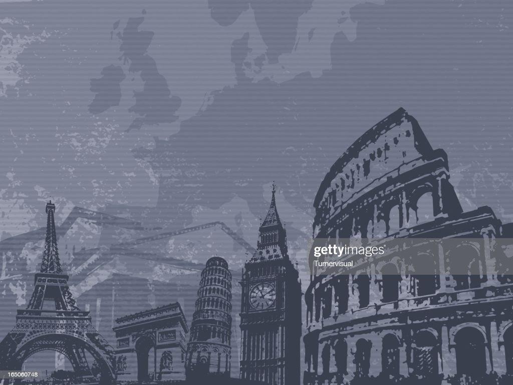 Europa : stock illustration