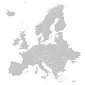 Europe - Political Map of Europe