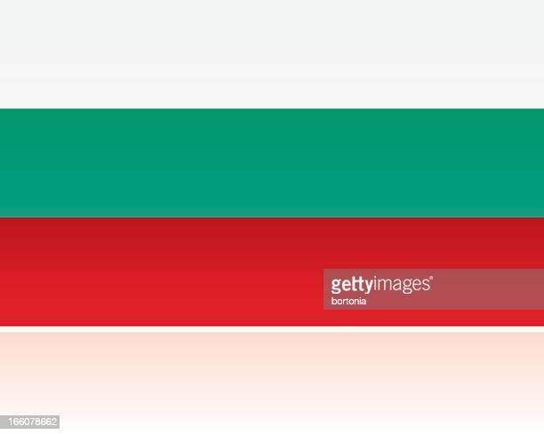 european flag: bulgaria - bulgaria stock illustrations