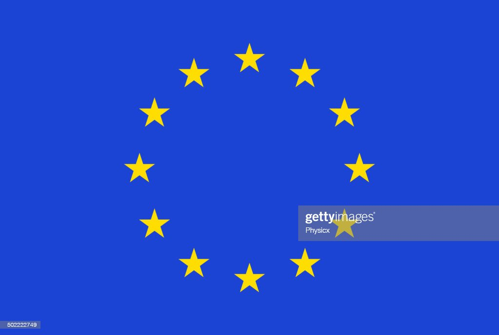 European flag. Vector