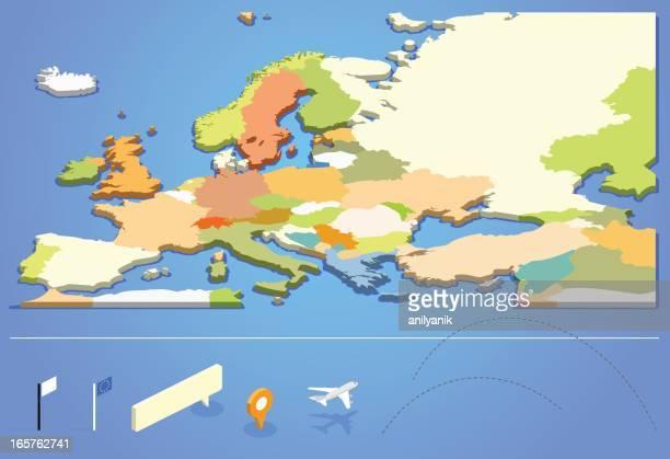 europa - europäische union stock-grafiken, -clipart, -cartoons und -symbole