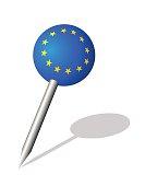 ' European union ' pin