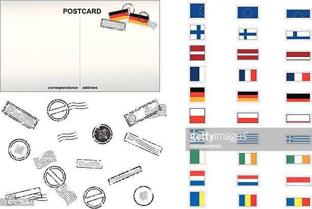 European Union Post Stamps No. 2