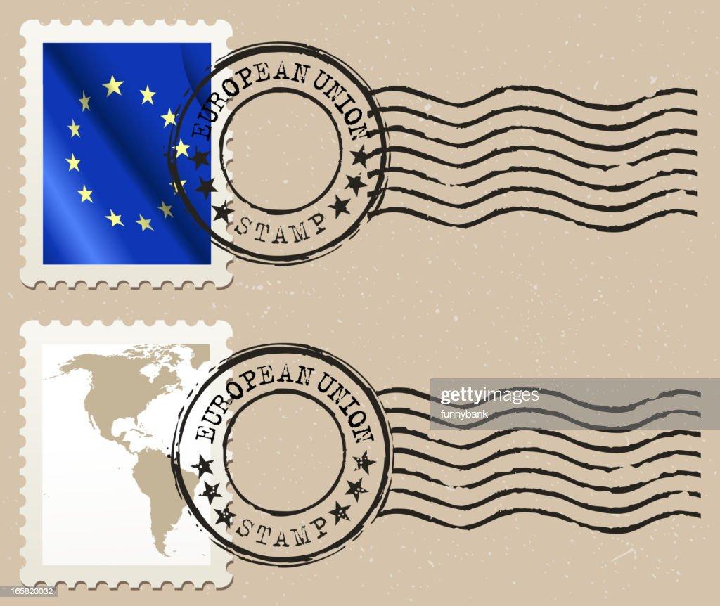 european union postage stamp