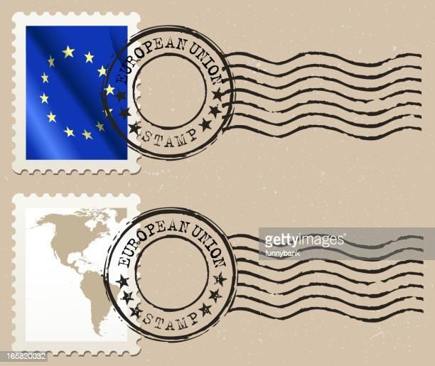 Europäische union Briefmarke