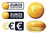 Euros Currency Elements