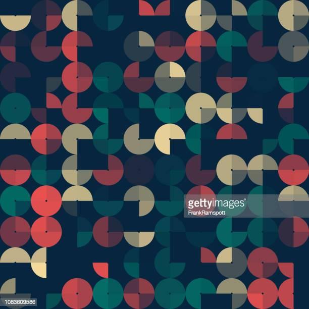 Abend-abstrakt Kreis-Design-Pattern