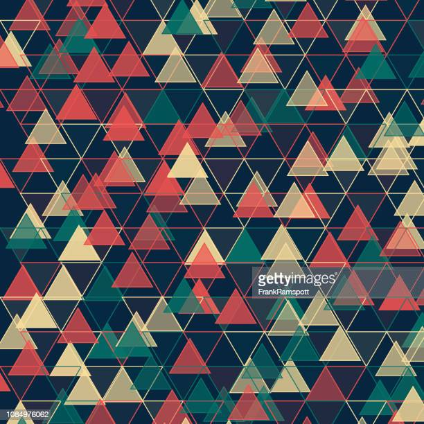 Am Abend Dreieck-Vektor-Design-Pattern