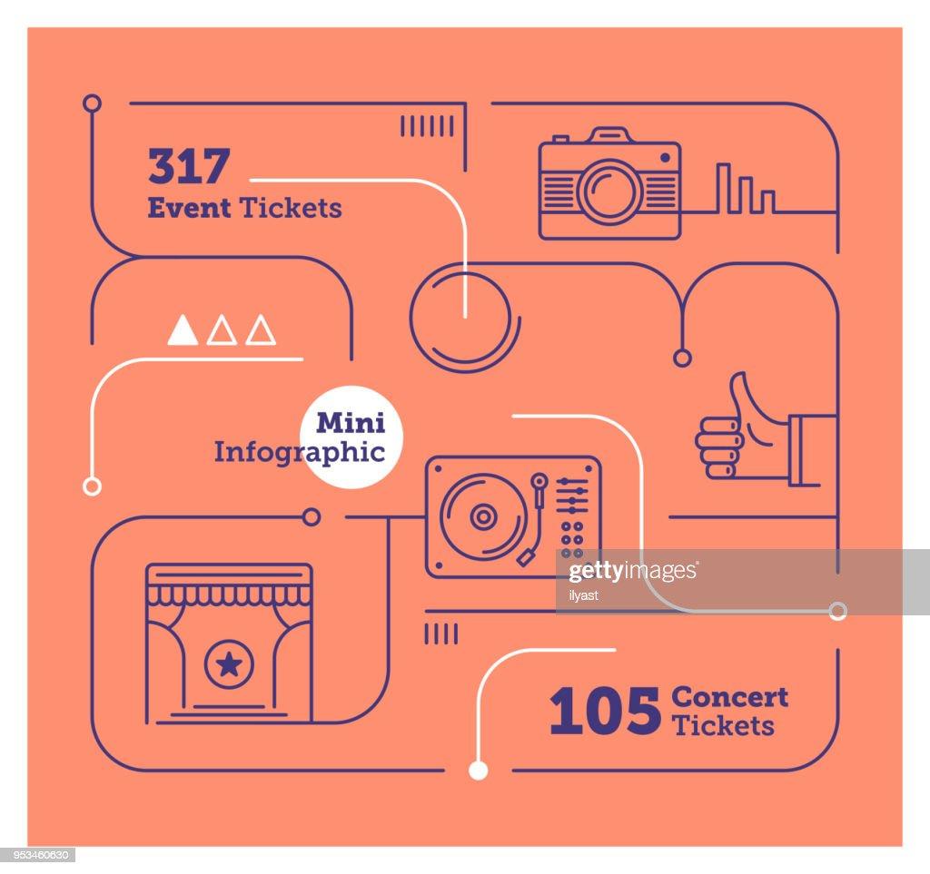 Events Mini Infographic