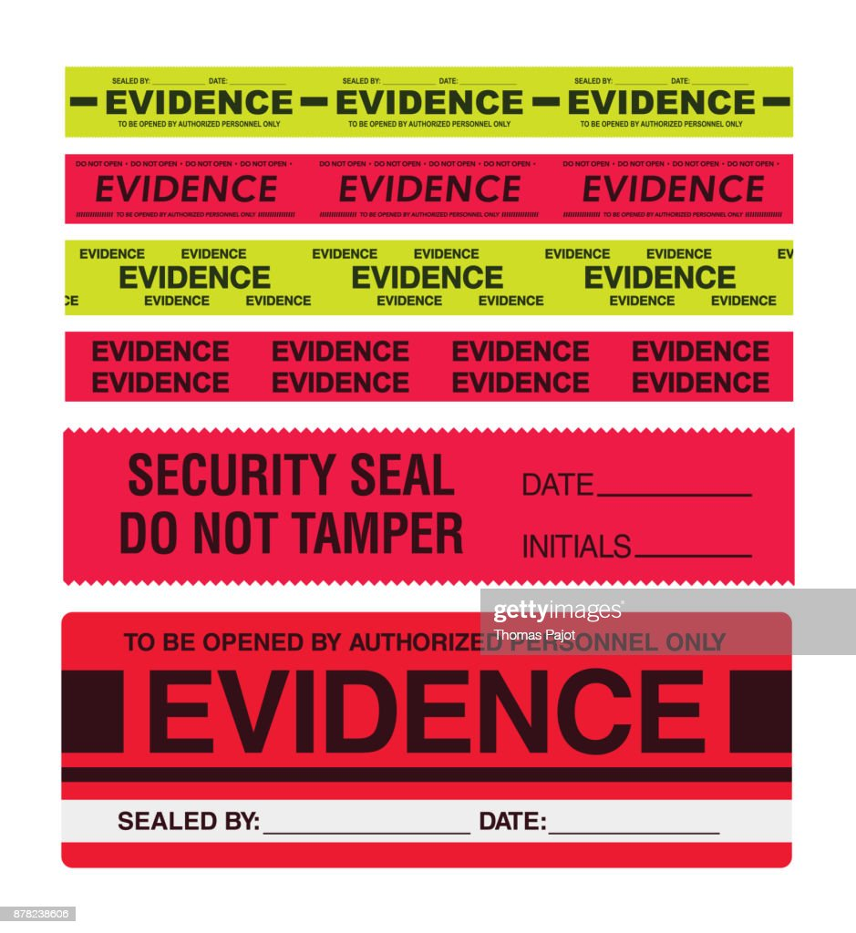 Evidence tapes