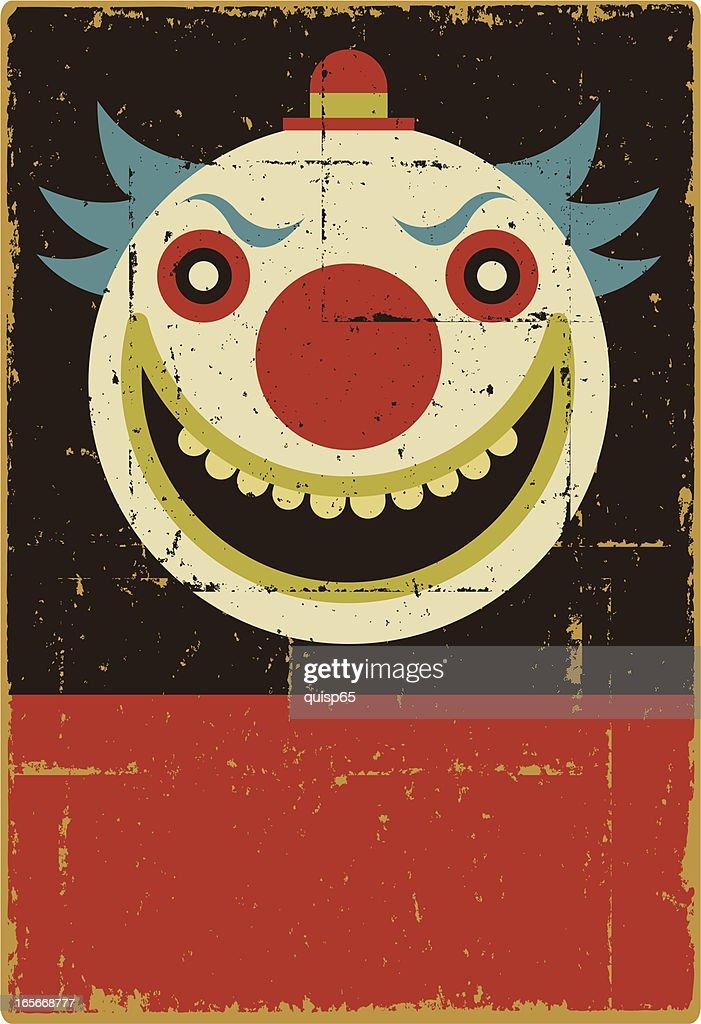 Evil Clown Sign