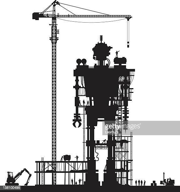 Evil Robot Under Construction