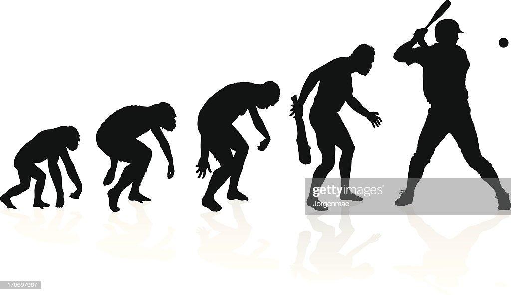 Evolution of a Baseball Player