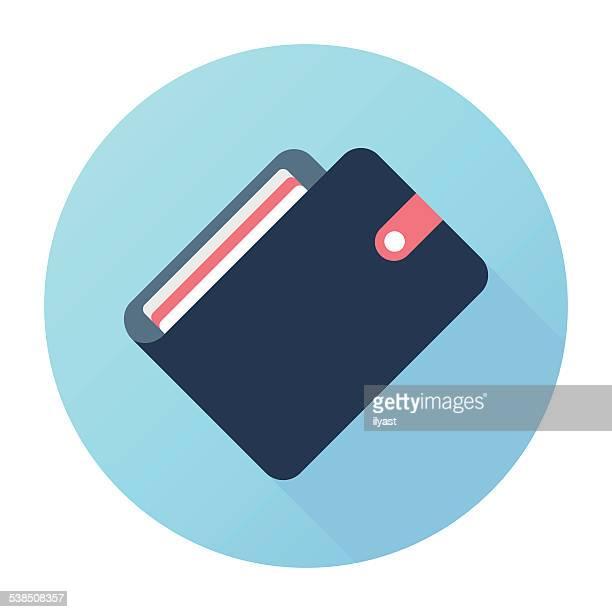 e-wallet - wallet stock illustrations