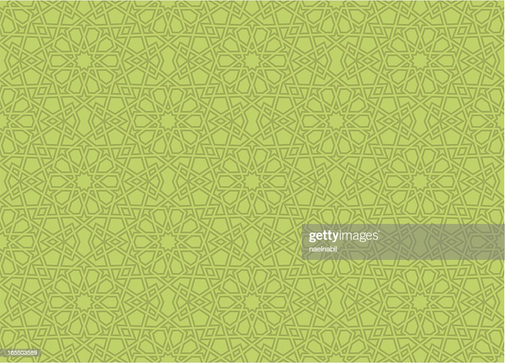 Exact Islamic star pattern