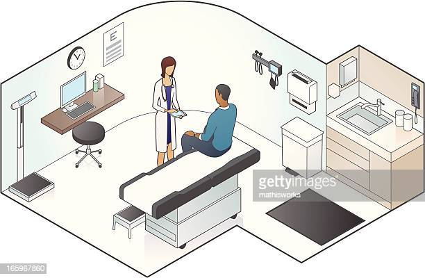 Examination Room Illustration