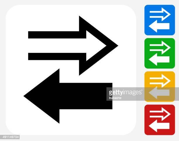 取引所グラフィックデザインアイコンフラット