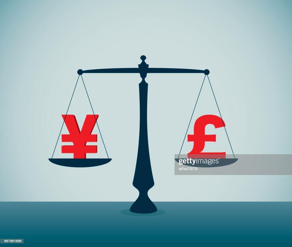Exchanging : stock illustration