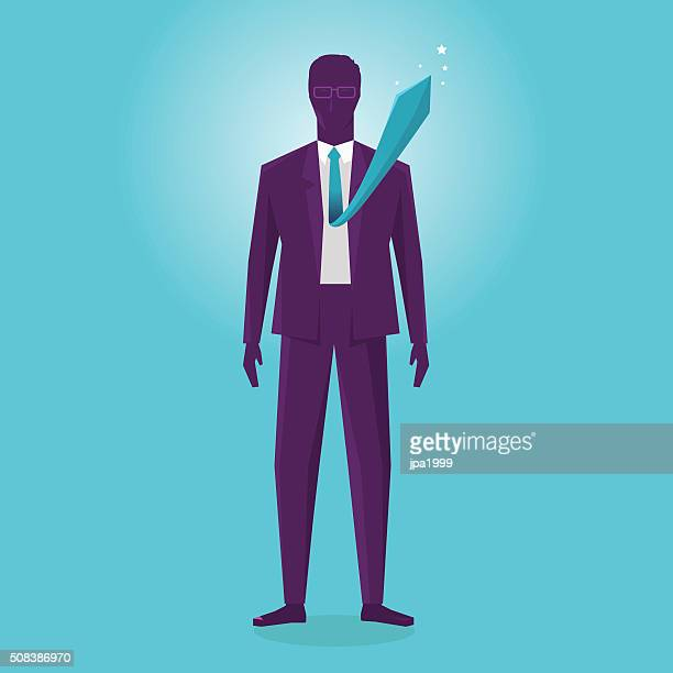 excited business man - erection stock illustrations, clip art, cartoons, & icons
