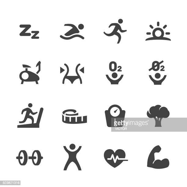 Exercise and Sport Icons - Acme Series