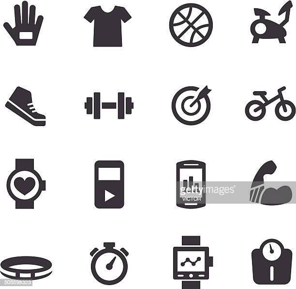 Exercise Equipment Icons - Acme Series