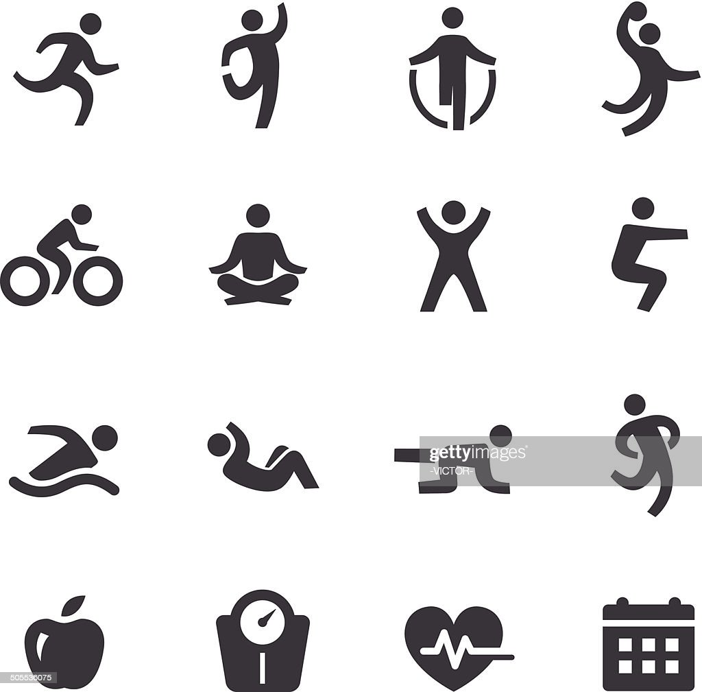 Exercise Icons - Acme Series