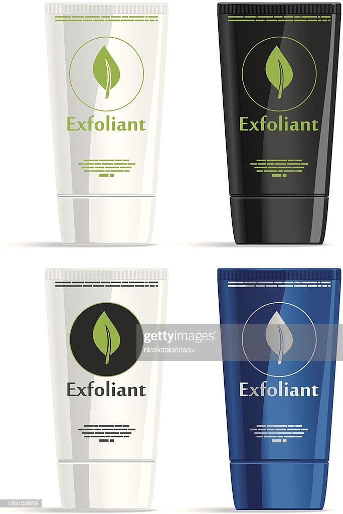 Exfoliating Cream Frontal View