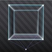 Exhibition showcase hologram