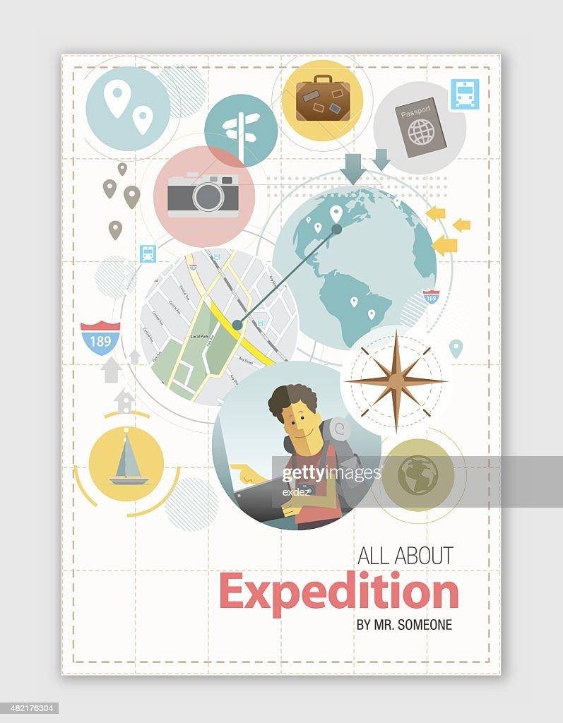 Expedition design : Stock Illustration