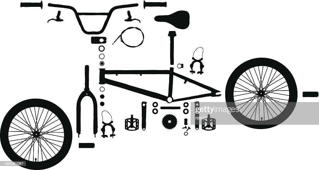 Exploded Bicycle