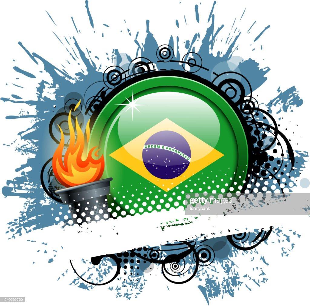 exploding banner : stock illustration