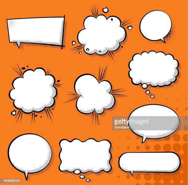 exploding speech bubble