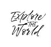 Explore the world phrase.