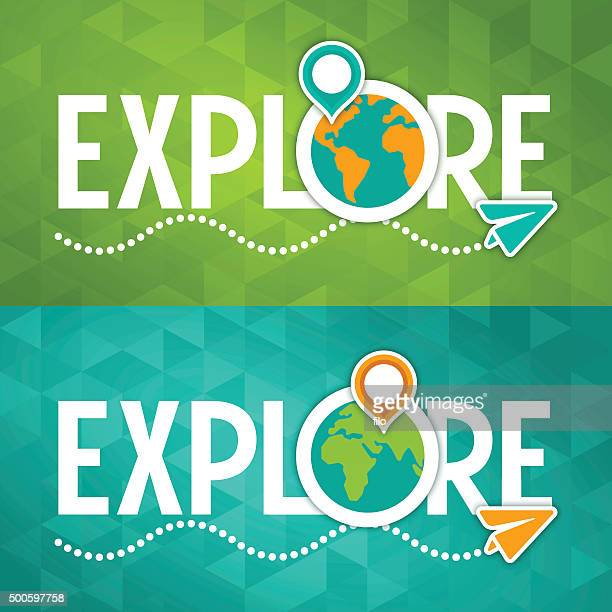 explore travel concept - reveal stock illustrations, clip art, cartoons, & icons
