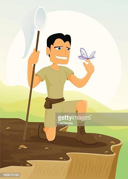 Explorer in der Wildnis