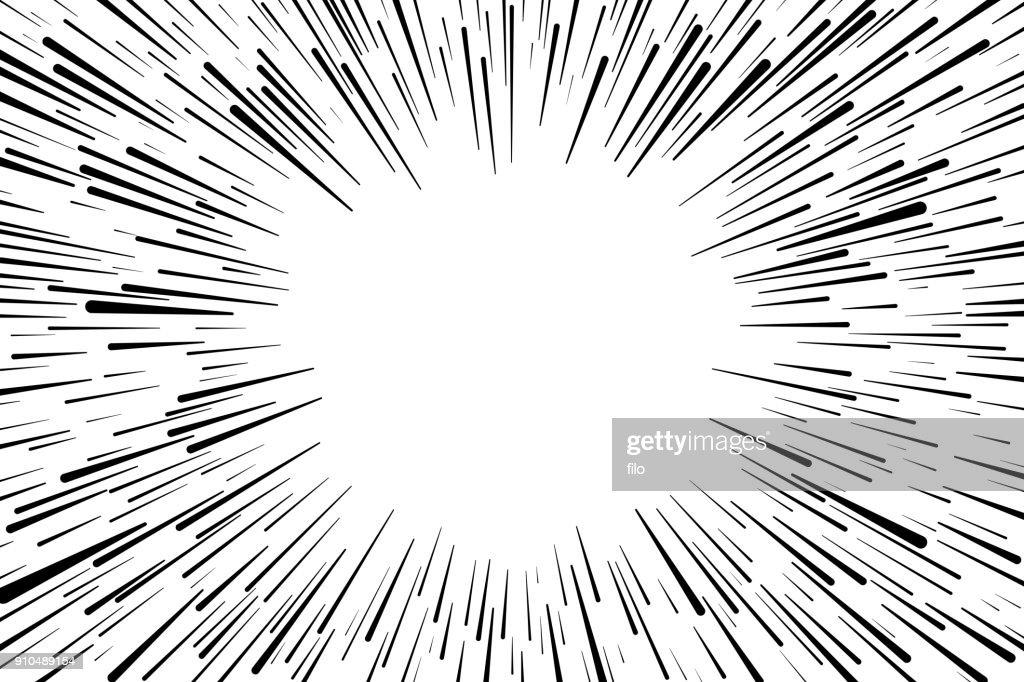 Explosão de fundo : Ilustração
