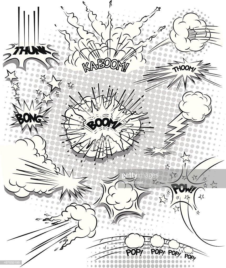 explosion bubbles