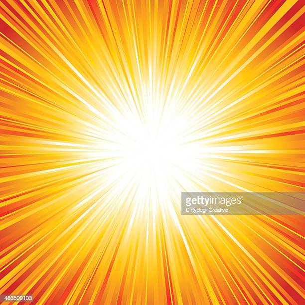 explosion / sunburst / starburst - igniting stock illustrations