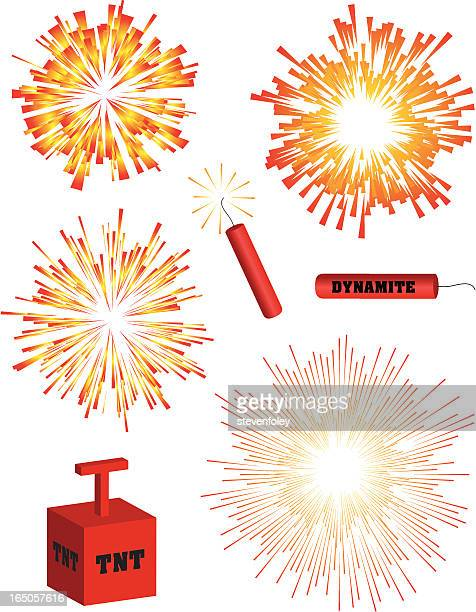 ilustraciones, imágenes clip art, dibujos animados e iconos de stock de explosiones - llamas de fuego